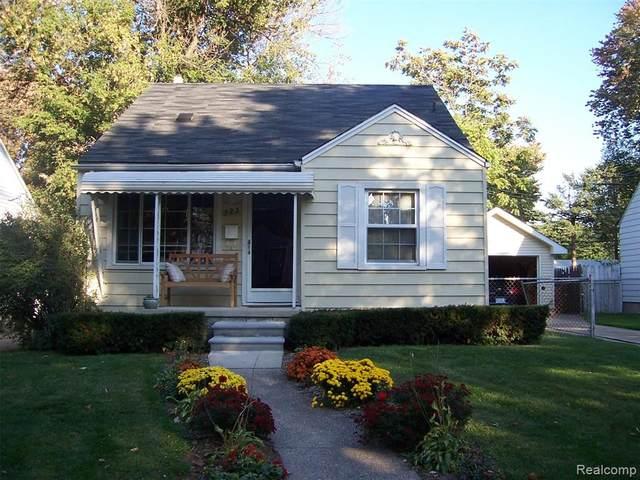 723 Irving Avenue, Royal Oak, MI 48067 (#2210018047) :: The Alex Nugent Team | Real Estate One