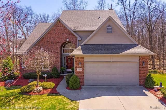 25491 Abbey Drive, Novi, MI 48374 (#2210018335) :: Duneske Real Estate Advisors
