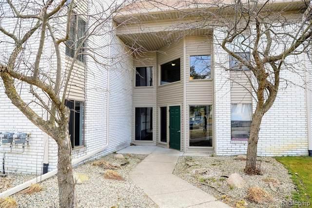 32013 W 12 MILE RD UNIT 107 #107, Farmington Hills, MI 48334 (#2210019085) :: Real Estate For A CAUSE