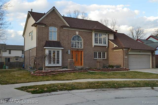 44668 Danbury Road, Canton Twp, MI 48188 (#2210020112) :: Real Estate For A CAUSE