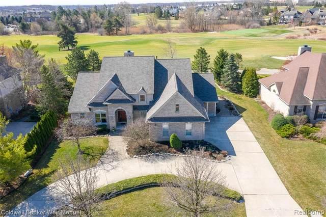45695 Tournament Drive, Northville Twp, MI 48168 (#2210020271) :: GK Real Estate Team