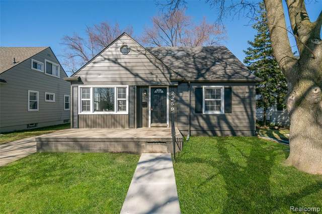 2259 Bacon Avenue, Berkley, MI 48072 (MLS #2210020820) :: The John Wentworth Group