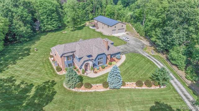 4755 Treasure Lake Drive, Genoa Twp, MI 48843 (#2210021271) :: Real Estate For A CAUSE