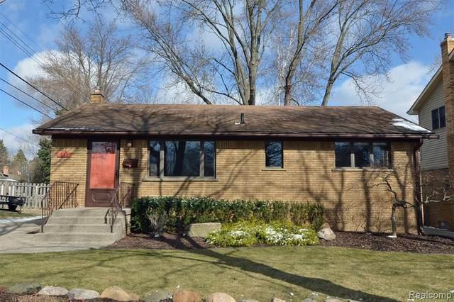 111 S Helen Avenue, Rochester, MI 48307 (#2210021452) :: The Alex Nugent Team | Real Estate One