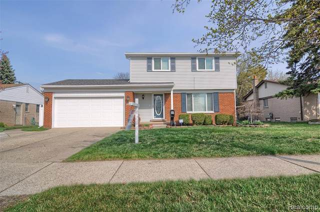 14016 Levan Road, Livonia, MI 48154 (#2210021893) :: Real Estate For A CAUSE