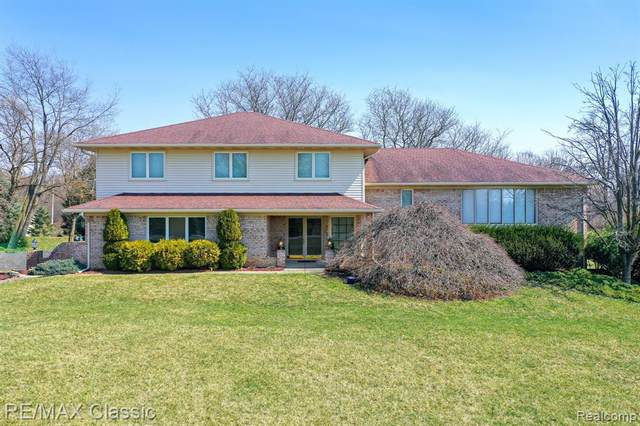 6450 Pontiac Trail, Salem Twp, MI 48178 (#2210022034) :: GK Real Estate Team
