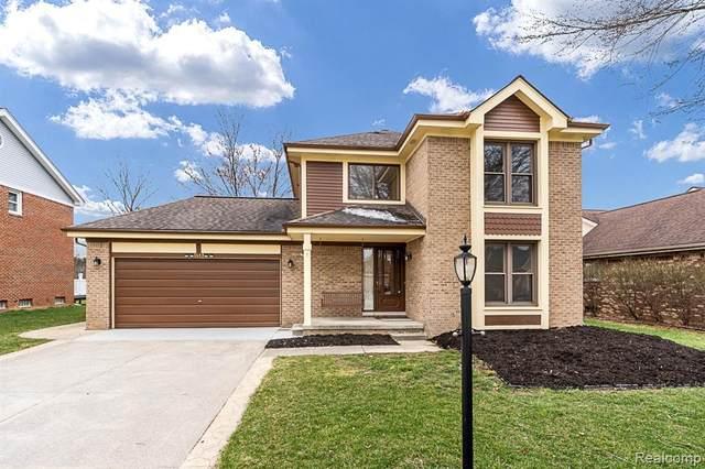 1643 Hillside Lane, Rochester Hills, MI 48307 (#2210022257) :: The Alex Nugent Team | Real Estate One