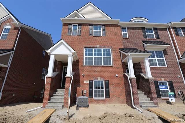 47676 Alden Terrace S #36, Northville Twp, MI 48168 (#2210022289) :: BestMichiganHouses.com