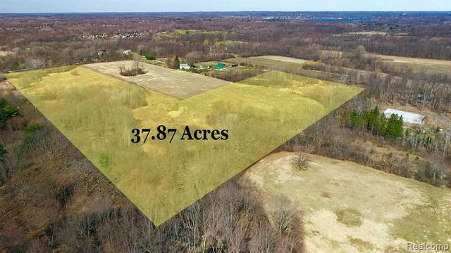 7600 Nollar Road, Northfield Twp, MI 48189 (#2210022486) :: Real Estate For A CAUSE