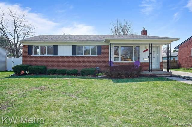 41119 Russet Lane, Plymouth Twp, MI 48170 (#2210023065) :: GK Real Estate Team
