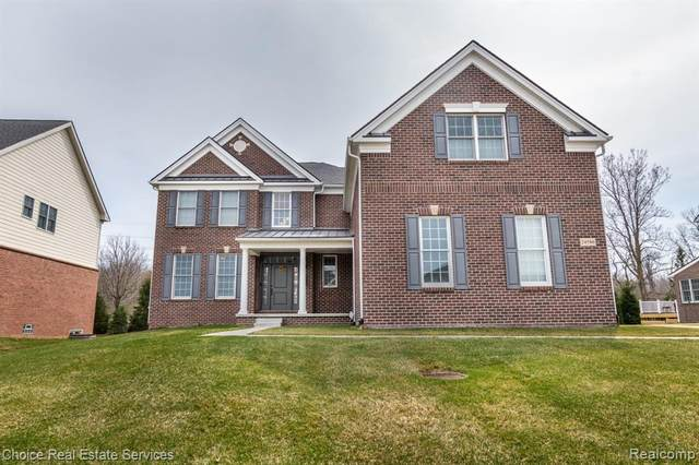 24586 Acorn Trail, Novi, MI 48374 (#2210023080) :: Duneske Real Estate Advisors