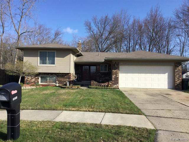 44838 Crestmont Drive, Canton Twp, MI 48187 (#2210023308) :: GK Real Estate Team