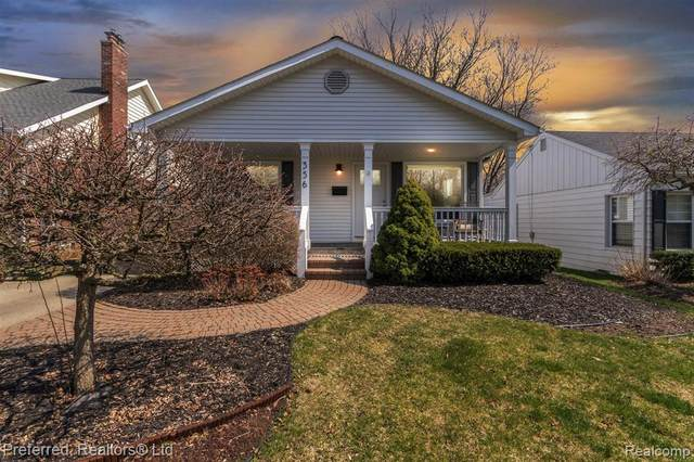 356 N Evergreen Street, Plymouth, MI 48170 (#2210023499) :: GK Real Estate Team