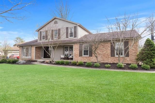 45125 Riveredge Drive, Plymouth Twp, MI 48170 (#543279980) :: GK Real Estate Team