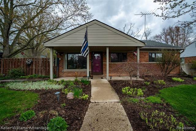 28586 Sutherland Street, Southfield, MI 48076 (#2210023982) :: Real Estate For A CAUSE