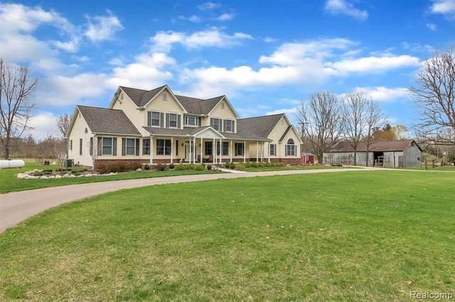 5275 Dansville Road, White Oak Twp, MI 49285 (#2210024475) :: The Alex Nugent Team | Real Estate One