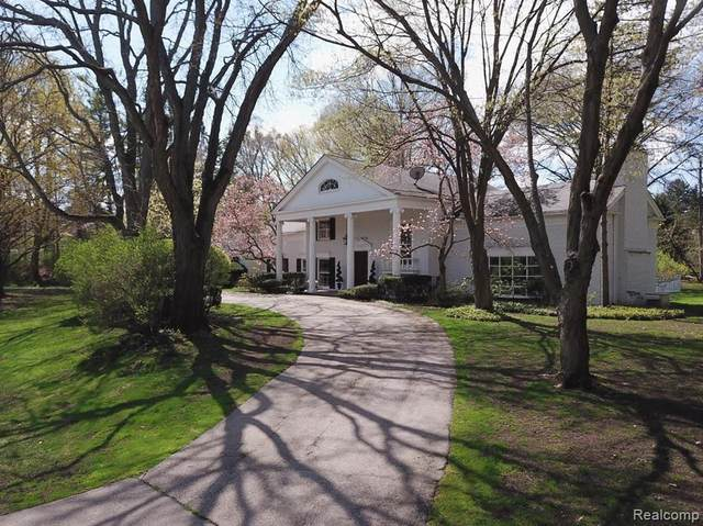 165 Harlan Dr, Bloomfield Hills, MI 48304 (#2210025004) :: Real Estate For A CAUSE