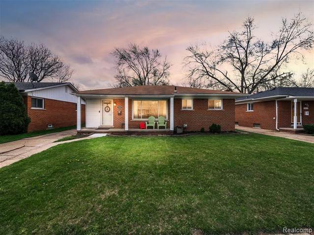 1352 Beaupre Avenue, Madison Heights, MI 48071 (#2210025319) :: Alan Brown Group