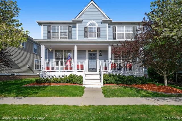 42559 Whitman Way, Novi, MI 48377 (#2210025617) :: Duneske Real Estate Advisors