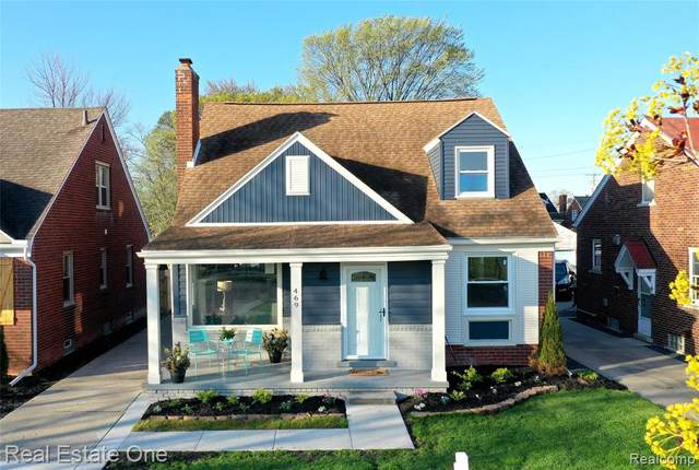 469 Kerby Road, Grosse Pointe Farms, MI 48236 (#2210025700) :: The Alex Nugent Team | Real Estate One