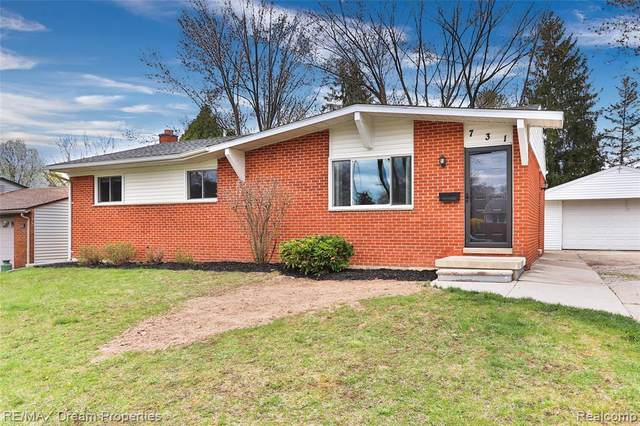 731 N Harris Street, Saline, MI 48176 (#2210025845) :: Real Estate For A CAUSE
