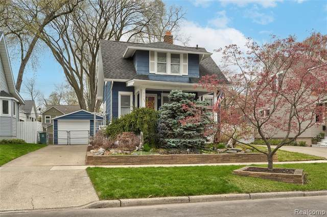 702 S Vermont Avenue, Royal Oak, MI 48067 (#2210026200) :: The Alex Nugent Team | Real Estate One