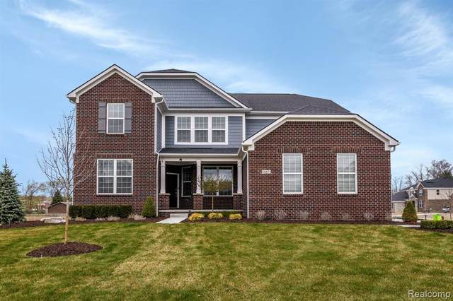 56871 Rockway Court, South Lyon, MI 48178 (#2210026334) :: The Mulvihill Group