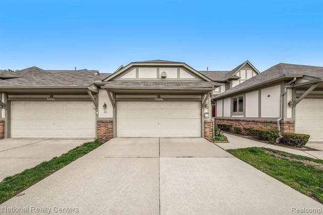 42186 Saratoga Cir, Canton Twp, MI 48187 (#2210026364) :: Real Estate For A CAUSE
