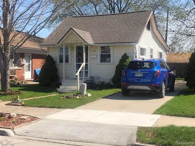 1157 5TH Street, Wyandotte, MI 48192 (#2210026500) :: The Alex Nugent Team | Real Estate One
