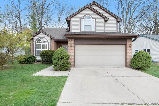 23049 Potomac Circle, Farmington Hills, MI 48335 (#2210026501) :: Real Estate For A CAUSE