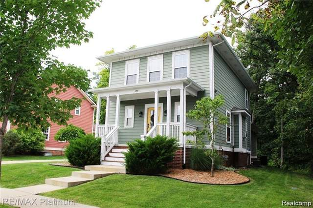 498 Kimball Street, Howell, MI 48855 (#2210026517) :: Real Estate For A CAUSE