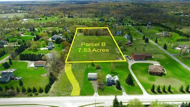 61849 W 8 Mile - Parcel B Road, Salem Twp, MI 48178 (#2210026803) :: Real Estate For A CAUSE