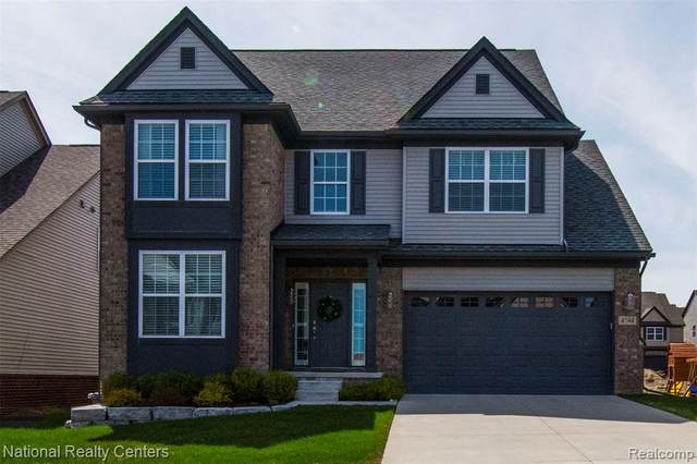 4744 N Stonegate Circle, Orion Twp, MI 48359 (#2210027341) :: Real Estate For A CAUSE