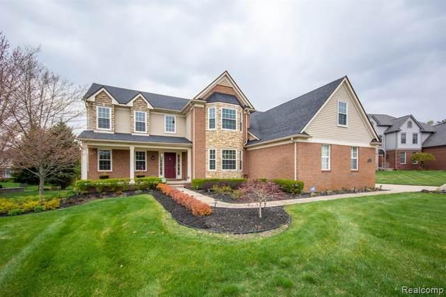950 Denbar Court, White Lake Twp, MI 48386 (#2210027541) :: Real Estate For A CAUSE