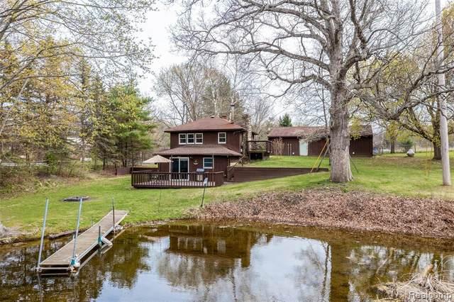11900 Glenbrook Road, Putnam Twp, MI 48169 (#2210028121) :: Real Estate For A CAUSE