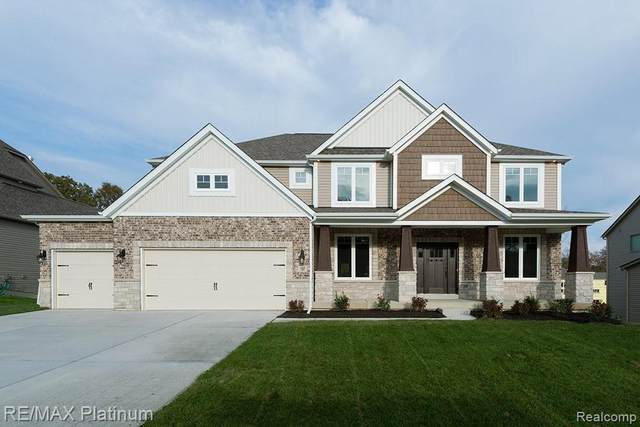 5633 Ciderberry, Genoa Twp, MI 48116 (#2210028157) :: The Alex Nugent Team | Real Estate One