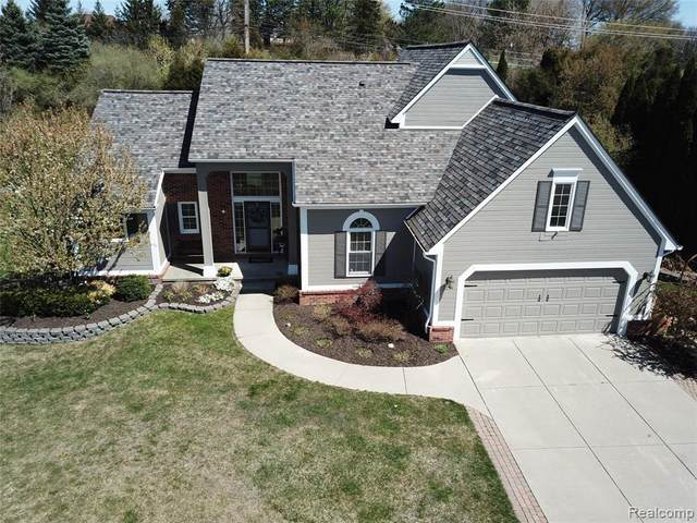 6791 Canterbury Lane, Independence Twp, MI 48348 (#2210029010) :: Real Estate For A CAUSE