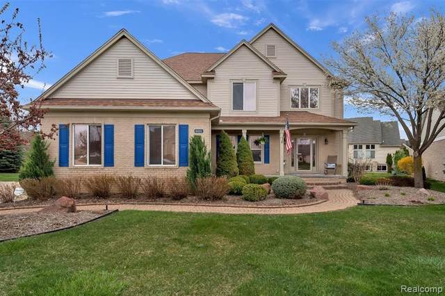 801 Pine Ridge Avenue, Oxford Twp, MI 48371 (#2210029216) :: Real Estate For A CAUSE
