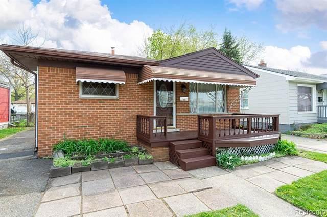 1628 E Woodruff Avenue, Hazel Park, MI 48030 (#2210029426) :: RE/MAX Nexus