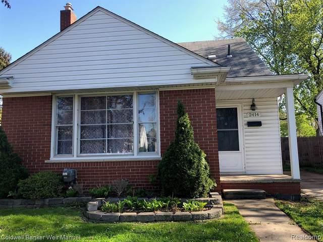 2414 Lincoln Avenue E, Royal Oak, MI 48067 (#2210030361) :: Keller Williams West Bloomfield