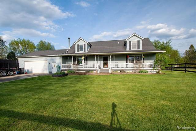 2107 Fisk Road, Genoa Twp, MI 48843 (#2210031556) :: Real Estate For A CAUSE