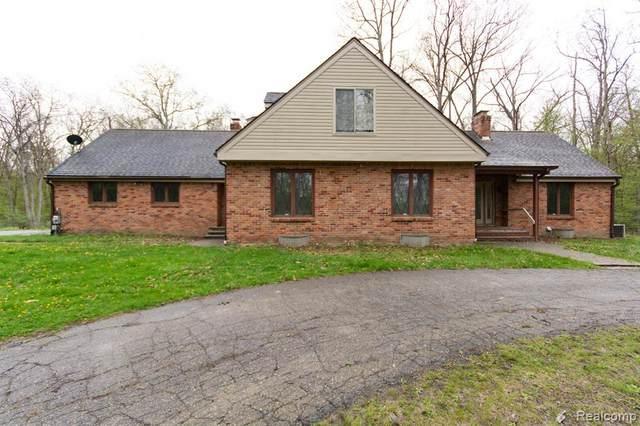 2241 W Davison Lake Road, Oxford Twp, MI 48371 (#2210032949) :: Real Estate For A CAUSE