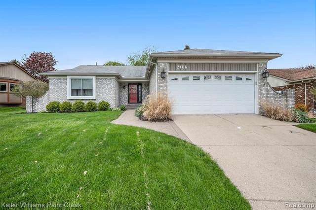 2106 Highsplint Drive, Rochester Hills, MI 48307 (#2210033330) :: Real Estate For A CAUSE