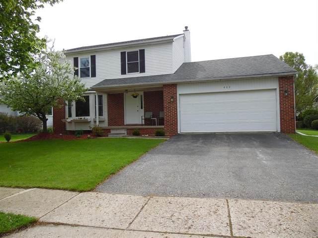 463 Berkshire Drive, Saline, MI 48176 (#543280236) :: BestMichiganHouses.com