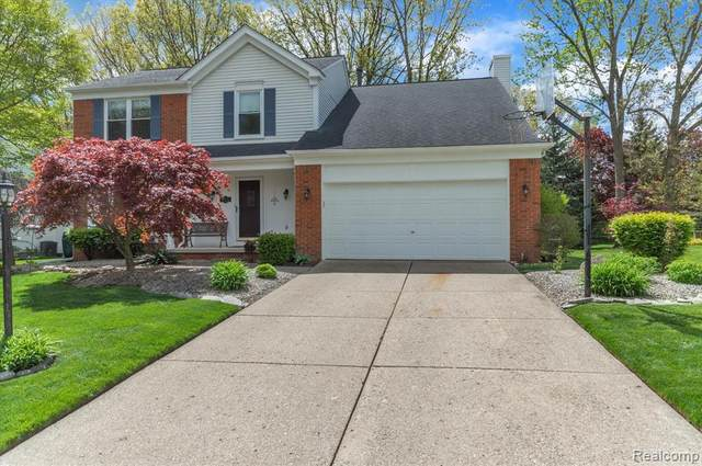 44635 Mansfield Drive, Novi, MI 48375 (#2210034473) :: Keller Williams West Bloomfield