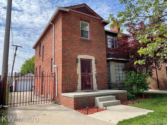 3729 Glendale Street, Detroit, MI 48238 (#2210035698) :: Alan Brown Group
