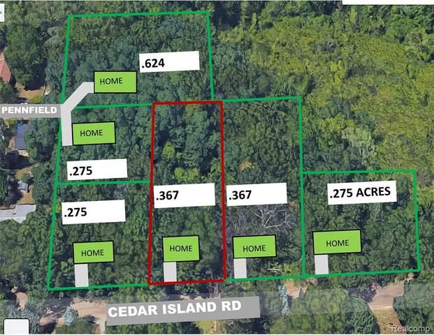 0000b Cedar Island Rd, White Lake Twp, MI 48386 (#2210035717) :: Keller Williams West Bloomfield