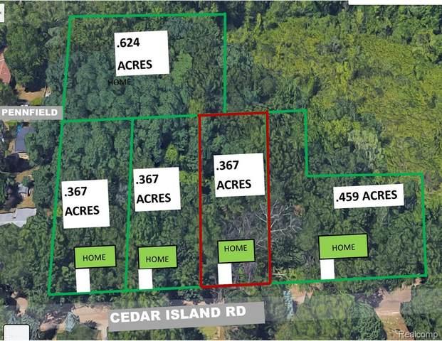 0000c Cedar Island Rd, White Lake Twp, MI 48386 (#2210035718) :: Keller Williams West Bloomfield
