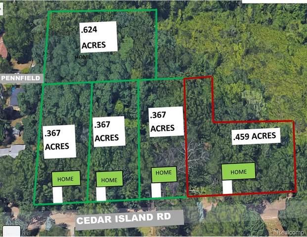 0000d Cedar Island Rd, White Lake Twp, MI 48386 (#2210035720) :: Keller Williams West Bloomfield