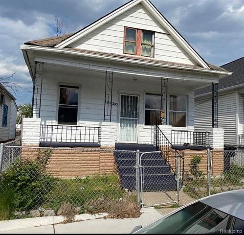 12520 Klinger Street, Detroit, MI 48212 (#2210035792) :: The Mulvihill Group